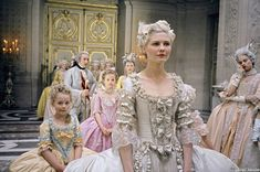 Played by Kirsten Dunst, Marie Antoinette is known for her frivolity and whimsical appreciation for the finer things in life. Description from celebritystylefashions.blogspot.com. I searched for this on bing.com/images