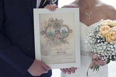 Paris Elopement: Levie and Jason's Neo-Renaissance Palace Ceremony | Wedding Certificate | WeddingLight Events - www.weddinglightevents.com | WeddingLight Photography - www.weddinglight.com