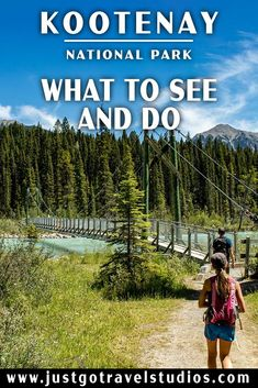 Kootenay National Park - What to See and Do Backpacking Canada, Canada Travel, Yoho National Park, National Parks, Canada Holiday, Park Lodge, Parks Canada, Visit Canada, Rocky Mountains