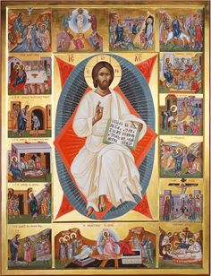 Jesus Is Lord, Jesus Christ, Trinidad, Byzantine Icons, Religious Icons, Orthodox Icons, Sacred Art, Lent, Painting Techniques