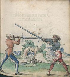 Title: Goliath (MS Germ.Quart.2020), Page: Folio 35r, Date: 1510-1520