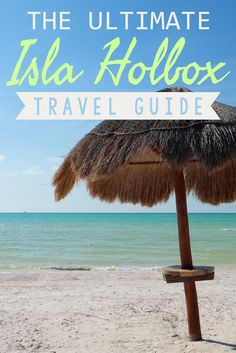 Welcome to Isla Holbox! Never heard of it? Well, that's part of its charm! Located north of the Yucatán Peninsula between the Caribbean Sea and the Gulf of Mexico, Isla Holbox is part of the Yum Balam Nature Reserve. Far from the crowds of Cancún, the tiny island is dotted with dirt roads, laid-back beach bars, and incredible natural beauty. Ready to start exploring? Check out my ultimate Isla Holbox travel guide!