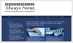Website para Empresa de Segurança