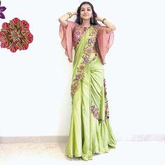 Patiala Dress, Saree Blouse Designs, Festival Wear, Ruffle Blouse, Blouses, Indian Weddings, Fun, Saris, Stitches