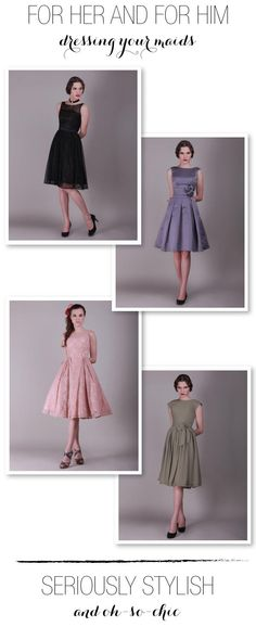 Bridesmaid Dresses by http://www.forherandforhim.com/ so many pretty styles to choose from