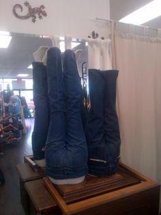 jeans a-huddle