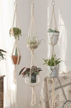 #macrameplanthanger #doublemacrameplanthanger #2tiermacrameplanthanger #bohemiandecor #largehangingplanter #heavypotholder #highceilingplanter #crochetplanter #ropeplanter #longplanthanger #wallplanter #indoorgardening #indoorplants #giftsforplantlover #housewarminggifts #minimalistdecor #modernmacrame #handmadegifts #etsy #etsyfinds #macramemaker #suspendedplanter #Bohodecor #decorativeplanter #houseplants #verticalgardening Large Hanging Planters, Garden Care, Amaryllis, Floating Garden, Feng Shui, Boho Decor, Gifts For Family, Etsy, Plants