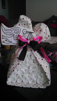 Looks way easier than a diaper cake