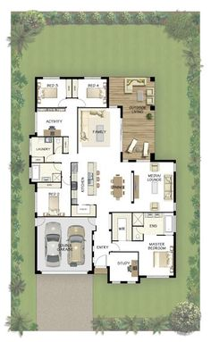 Coral Homes :: Marcoola Series features Perfect floor plan Dream House Plans, House Floor Plans, My Dream Home, Dream Homes, Bedroom Layouts, House Layouts, Bedroom Ideas, Bedroom Decor, House Blueprints