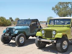 154 1303 10 Ground Up To The Rubicon Part 1 Green 1975 Jeep Cj 5