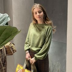 ftc_cashmereJungle vibes with our green jumper made from SeaCell™ Cashmere. 📷 by @bindesboelfashion Green Jumpers, Cashmere, Instagram, Cashmere Wool, Paisley