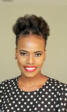 Natural Hair Updo, Natural Hairstyles, Dreadlock Hairstyles, Relaxed Hair, Updos, Watch, Gallery, Hair Styles, Holiday