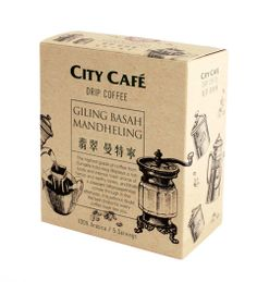 City Cafe Drip coffee / on Packaging of the World - Creative Package Design… Food Packaging Design, Coffee Packaging, Coffee Branding, Packaging Design Inspiration, Packaging Ideas, Espresso Shot, Espresso Coffee, Drip Coffee, Coffee Drinks