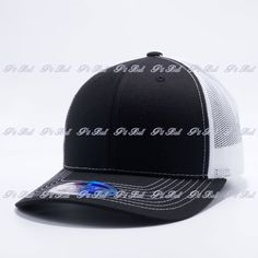 Shop for Wholesale Trucker Hats Wholesale: Pit Bull Black and White Cambridge Trucker Mesh Hat Cap Wholesale and Custom Dad Hats, One Size Fits All, Pitbulls, Black And White, Products, Blanco Y Negro, Black White, Black N White, Pitt Bulls