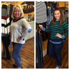 Frox Fashion Friday! Fall is in the air in Ambler! Here are Alison and Kristin's picks for the week! Like, comment and share or just pop in and let us know your favorite!