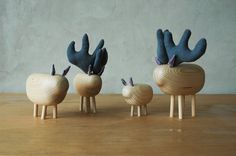 Wooden and minimalistic toys