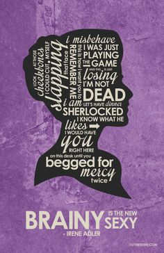 Sherlock BBC: Irene Adler by OutNerdMe