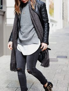 Five Steps to a Perfectly Layered Winter Outfit - She does...