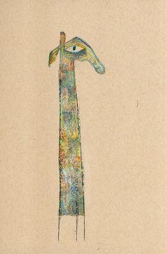 Kraft Giraffe 3 | da Carla Sonheim