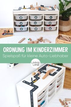 Keep order in the children's room with green organization stickers - Kinderzimmer Decoration Hall, Home Grown Vegetables, Couch Set, Kitchen Lighting Fixtures, Felt Crafts, Linen Bedding, Storage Spaces, Family Room, Kids Room