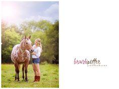 Senior Pose #horse #photography