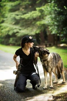 tactical dog lover...