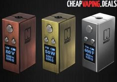 Here's a great deal on the ultra compact Artery Vapor Nugget 50W TC Box Mod. Get it cheap.