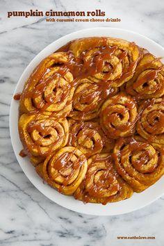 Pumpkin Cinnamon Rolls Recipe on Yummly