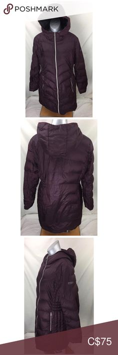 Lucky Brand Women's Lightweight Packable Down Preown this is very wrinkled up for lighter days Nylon Zipper closure Machine Wash Lightweight down coat Packable Down fill - 80 percentwater fowl feather Colour Burgandy Lucky Brand Jackets & Coats Knit Jacket, Faux Fur Jacket, Gray Jacket, Down Coat, Distressed Denim, Lighter, Lucky Brand, Fill, Feather