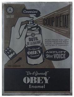 Shepard Fairey, 'Do It Yourself', 2012 - by Artcurial - Briest - Poulain - F. Tajan