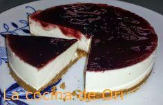 Tarta De Queso Crema Y Moras