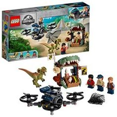 168 pieces – Dinosaur gift set for boys and girls aged and for fans and kids of all ages; This LEGO Jurassic World Dilophosaurus on the Loose 75934 building set can be built together with all other original LEGO sets and LEGO bricks for creative play. Lego Jurassic World Dinosaurs, Jurassic World Set, Baby Dinosaurs, Baby Animals, Lego Ninjago, Lego Duplo, Dinosaur Head, Dinosaur Gifts, Lego Sets