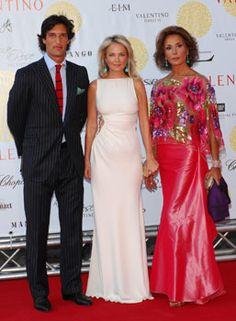 Rafel Medina Abascal, the Duque de Feria, Cornelia Guest, and Naty Abascal