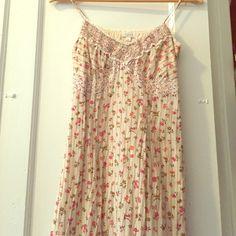 Floral slip dress. Floral slip dress. Ruffle bottom. Perfect for festival. Devan Dresses