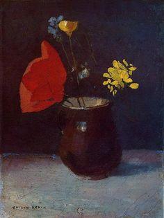 Still Life | Odilon Redon 1840-1916