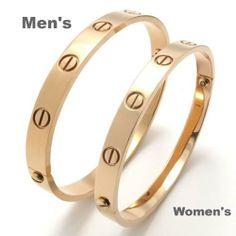"KONOV Jewelry Polished Screws Design Stainless Steel Bangle Cuff Love Bracelet, His & Hers Couples Gift for Valentine - Color Rose Gold - for Him KONOV Jewelry. $18.99. Men's Bracelet - Width: 68mm(2.68"") High: 2.24""(5.7cm) circumference: about 8""(20.3cm). Women's Bracelet - Width: 60mm(2.36"") High: 2.05""(5.2cm) circumference: about 6.3""(16.0cm). Components Included : 1 Bangle + 1 Screwdriver. Color: Rose Gold; Material: Stainless Steel"