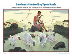 David Was a Shepherd Boy Jigsaw Puzzle