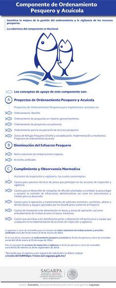 Componente de Ordenamiento Pesquero y Acuícola. SAGARPA SAGARPAMX