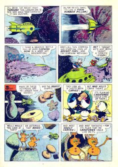 Uncle Scrooge #29...Carl Barks story an' art (click to enlarge)