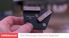Twin Segment Concrete Grinding Tool