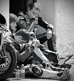 John McGuiness, James Hillier and Guy Martin #Isle of Man TT Races