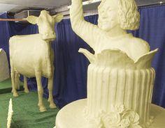 Butter sculpture, #Iowa State Fair