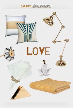 A volta do dourado no décor. Veja: http://casadevalentina.com.br/blog/detalhes/a-volta-do-dourado-no-decor-2936  #decor #decoracao #interior #design #casa #home #house #idea #ideia #detalhes #details #gold #dourado #style #estilo #casadevalentina #produtos #products #vendaonline