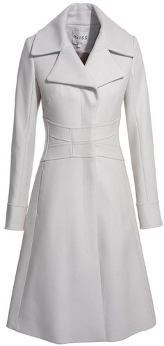 Reiss Coco FIT AND FLARE COAT - EVERYSTORE