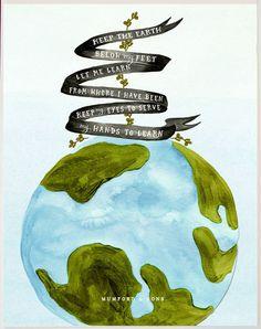keep the earth below my feet [mumford & sons]