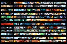 The Incredibles Colour Scripts