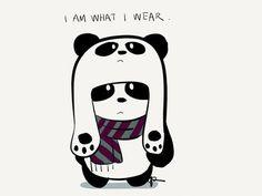 panda hipster tumblr - Buscar con Google
