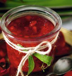 Marmelade van aalbessen en appel