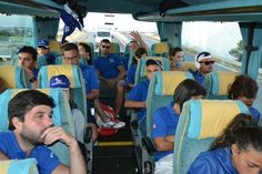 Staff sul bus: destinazione Porto di Bari!