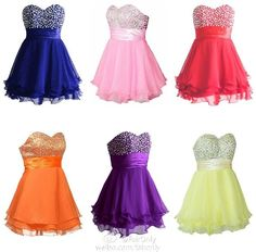 FairOnly Girl&-39-s Mini Quinceanera Prom Homecoming Dresses Size 6 8 ...